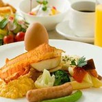 朝食バイキングはお客様の口コミでも好評